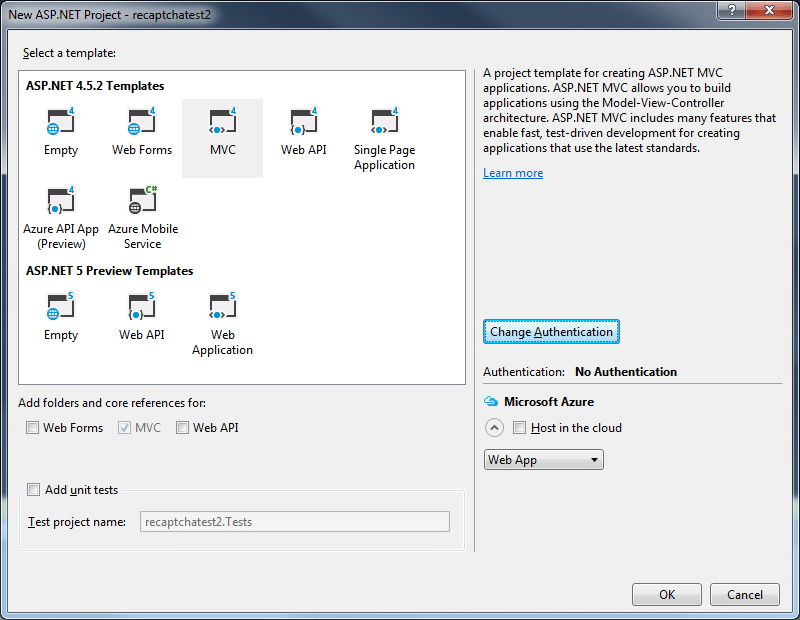 recaptchamvcprojectselect2