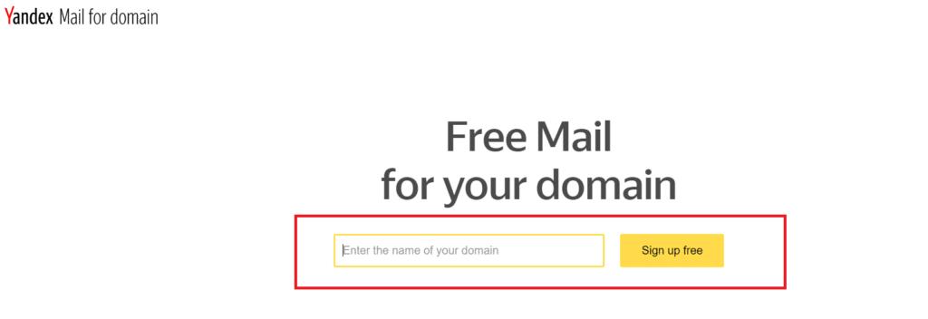 yandex kurumsal mail alan adı kayıt